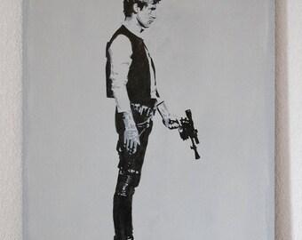 Han Solo portrait