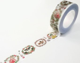 Girls with Flowers Washi Tape