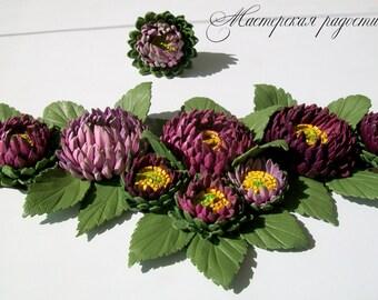 Leather accessory chrysanthemum,chrysanthemum leather,Belt sash leather,leather belt women,Flower Belt Leather,chrysanthemum,Flower