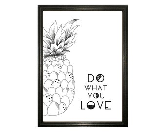 Do what you love Poster A4