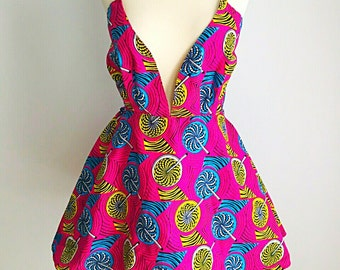 Ade - backless dress