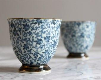Cup tea / coffee mug ceramic traditional