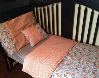 Toddler Bedding - 4 piece set