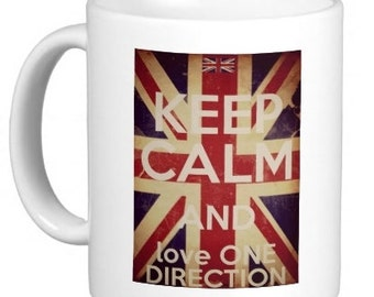 Keep Calm And Love One Direction Mug