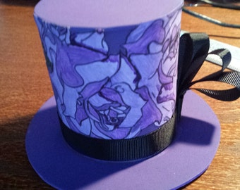 Medium Custom Top Hat (For Headbands)