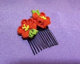 Japanese Kanzashi Flower Hair Pin