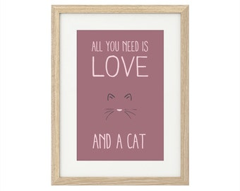 All you need is love. And a cat.
