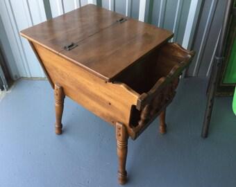 Vintage flip table