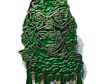 Creature from the Black Lagoon Lapel Pin Hat Pin Enamel Collectible Hatpin Limited Edition Classic Monster Horror