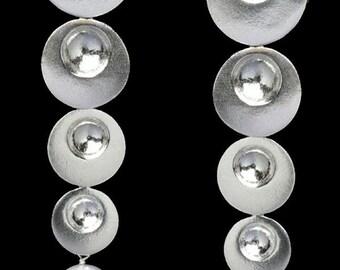 Silver Earring Drop