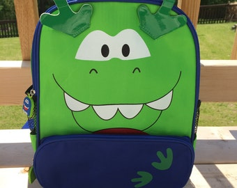 Dinosaur backpack | Etsy