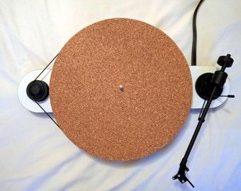 SuberMat 100% Cork Turntable Platter Mat Slipmat (2mm)