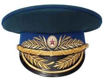USSR Soviet Parade KGB General hat Russian Army