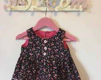 Emma Pinafore Dress in 9-12 months