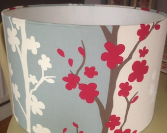 Gorgeous forest themed 40cm Drum Lamp Shade