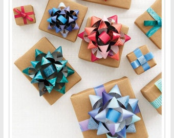 Bows Made From Recycled Magazines