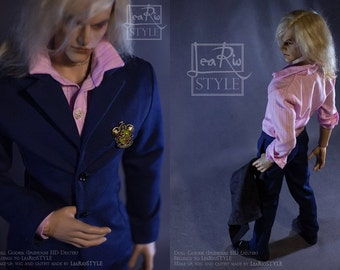 SD BJD suit, BJD clothes, doll clothes, man suit