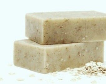 Vegan Oatmeal Cleansing Bars with Shea Butter-Large 4 oz. Bars