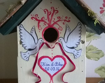 Bespoke bird nesting box