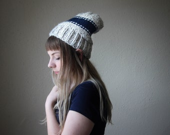 COASTAL // Colorwork Knit Beanie