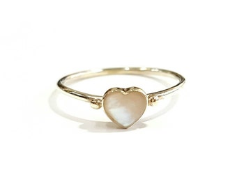 Siro hart silver ring 925, Sterling silver ring, Dainty ring