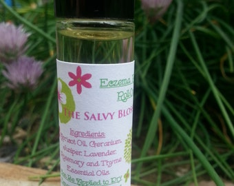 Eczema Roll-On, Eczema Relief, Essential Oils, Healing Oils
