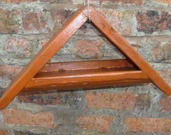 Garden Bird table / feeder , Hanging type, Triangular shape. Heavy Gauge Wood
