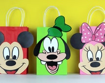 Mickey Mouse Clubhouse Favor Bag Instant Download