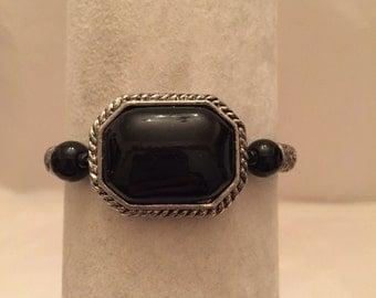 Black Onyx Victorian  Bracelet