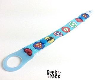 Pacifier Geek Nerd Marvel