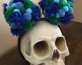 Furry Blue Balls