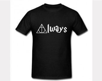 Harry Potter Deathly Hallows Symbol 100% cotton T-shirt