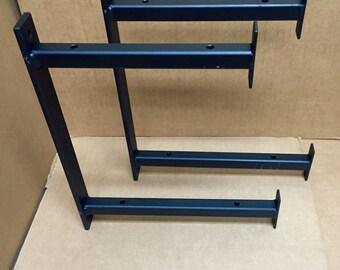 Heavy Duty Industrial Double Bracket, Two Floors Bracket, Bracket With 2 Levels