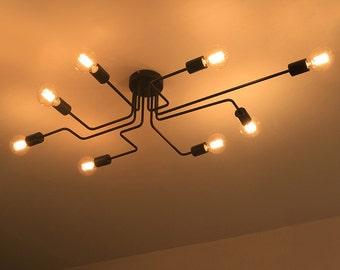 8 socket ceiling lamp
