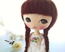 Toy for girls, Handmade cloth doll, Fabric doll, Ragdoll, Doll for girl, Gift for girl, gift for her, Collectible doll, Art cloth doll