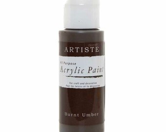 Docraft Acrylic paint - Burnt Umber