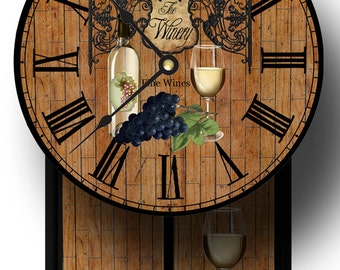 Unique The Winery Pendulum Clock
