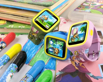 Jammowatch. The first Plug and Play GPS Touchscreen Watch Phone For Kids
