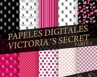 Victoria s Secret papers digital-Digital Paper