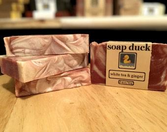 White Tea & Ginger Handmade Soap