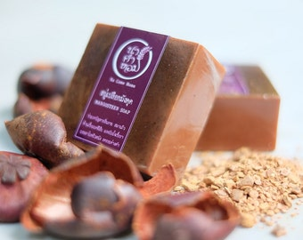 MANGOSTEEN SOAP - Handmade Soap, Organic Soap, Handcrafted Soap, Natural Soap