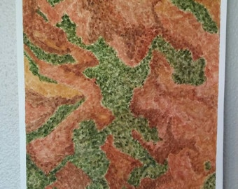 Mesa Verde -Original Handmade Art