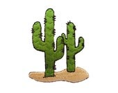 Cactus Patch Iron-Embroidered | desert, nature, plant, arizona, flower, personalized, craft, crafts, diy, do it yourselft, artmars