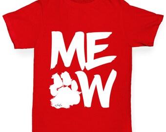 Boy's Meow T-Shirt