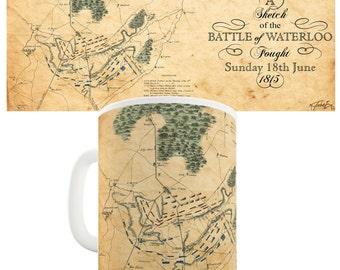 Battle Of Waterloo 1815 Ceramic Novelty Mug