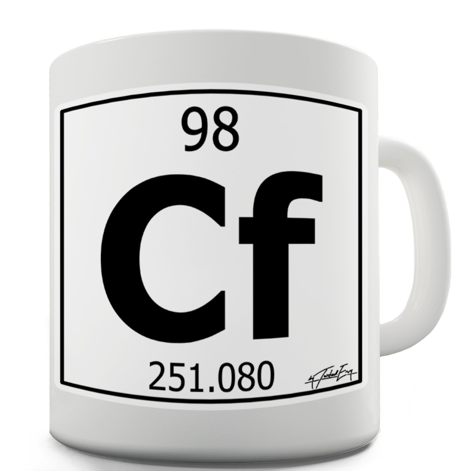 Periodic Table Elements Coffee Mug Funny Coffee By Periodic