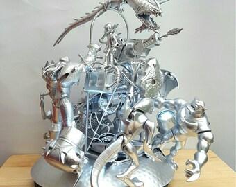 Ben Ten Themed Sci Fi Fantasy Lamp Sculpure