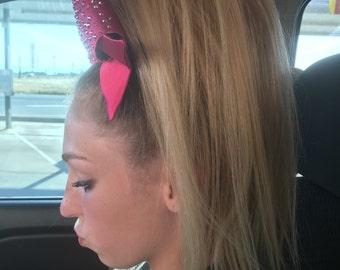 """18"""" Punk Pony 100% Human Hair Cheer Hair Piece"""