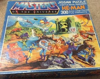 Masters of the Universe He Man Puzzle