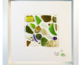 ID 1139 - Genuine Sea Glass Sculpture